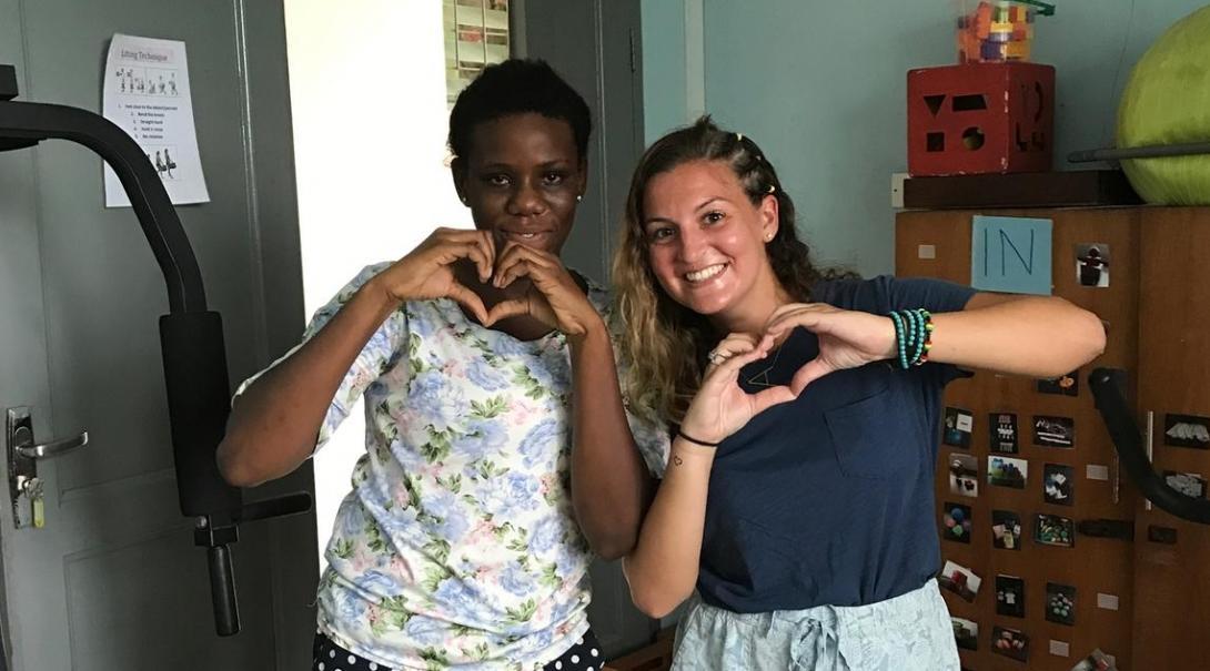 Allison V in Ghana